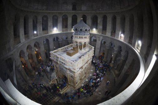 Gerusalemme edicola del Santo Sepolcro