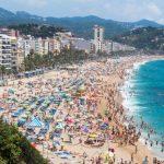 Lloret de Mar: in Costa Brava giovani da mezza Europa