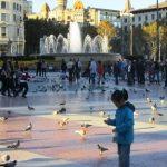 In Plaza de Cataluña il cuore di Barcellona
