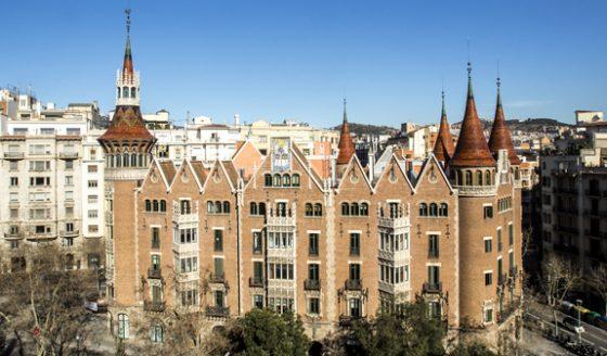 Barcellona Casa de les Punxes