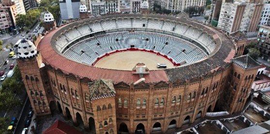 Barcellona La Plaza de toros Monumental