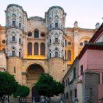 La Cattedrale della Incarnazione uno degli edifici più alti di Malaga