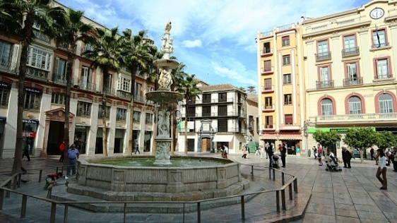 Plaza de la Constitución Malaga