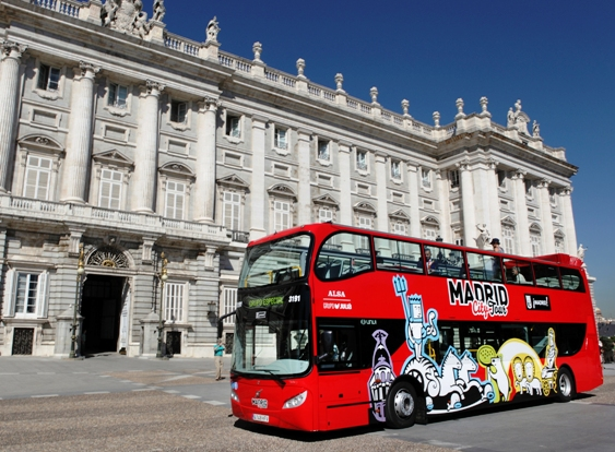 Madrid autobus turistico