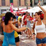 Malaga: la movida estiva si svolge sui tetti