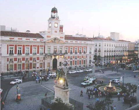 A puerta del sol per scoprire gli elementi pi for Puerta del sol 2017
