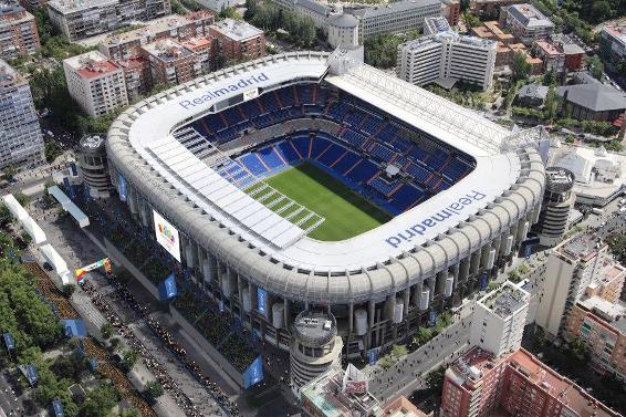 stadio bernabeu Madrid