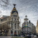 Sulla Gran Vía di Madrid il centro del divertimento notturno