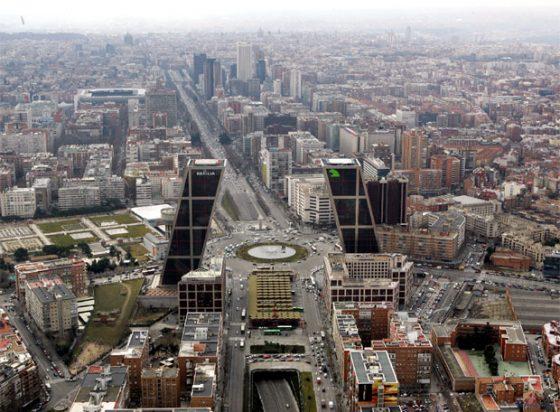 Madrid Paseo de la Castellana