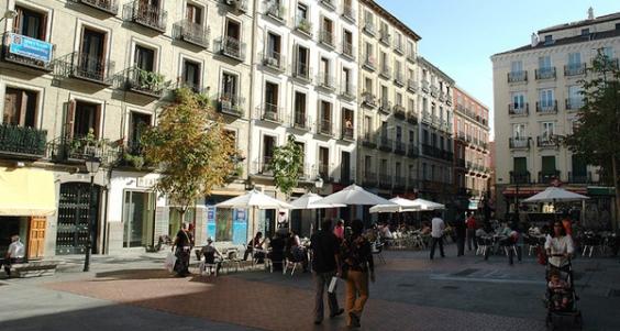 Madrid Quartiere di Malasaña