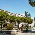 A Madrid nel distretto di Chamberí la zona residenziale dell'aristocrazia