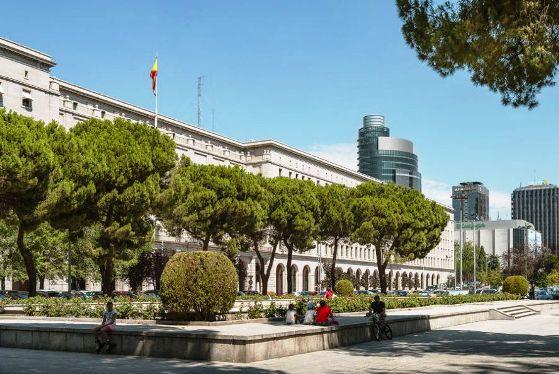 Madrid il distretto di Chamberí