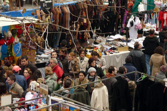 mercato el rastro Madrid