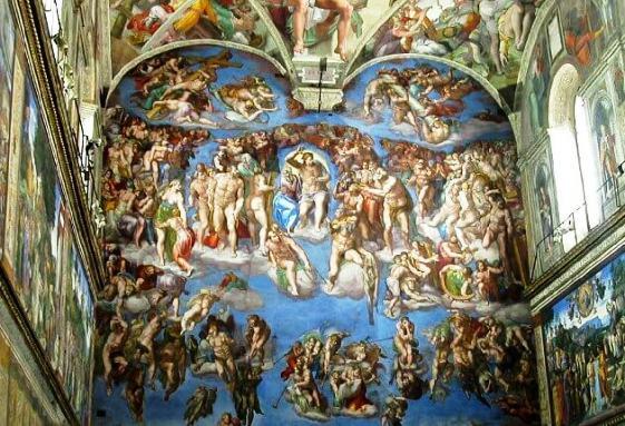 Musei Vaticani Cappella Sistina Roma