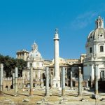 Roma. I Fori Imperiali si estendono tra il Campidoglio e il Quirinale
