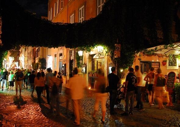 Roma Via della Lungaretta