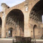 Roma. Da vedere l'imponente Basilica di Massenzio