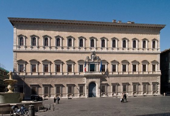 palazzo farnese Roma