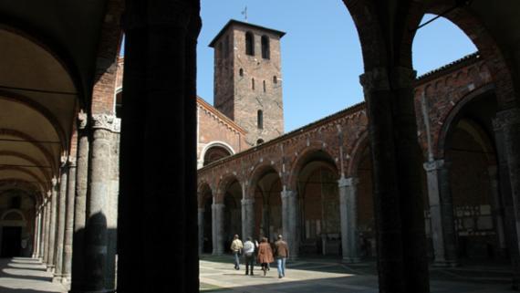 Milano Basilica di Sant'Ambrogio