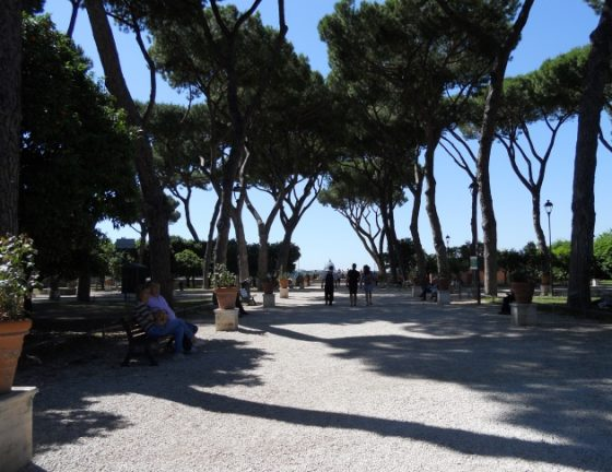 Roma vista dal giardino degli aranci il terrazzo sull 39 aventino europa nel mondo - Giardino degli aranci frattamaggiore ...