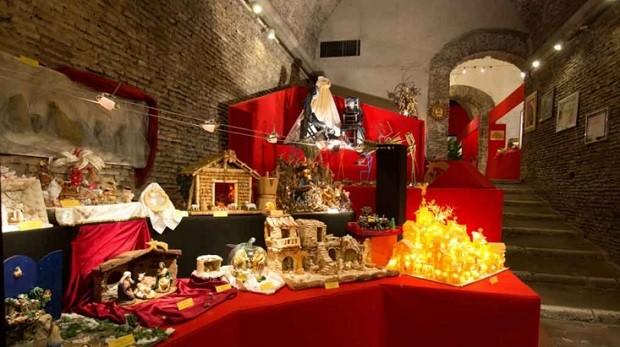 Sala del Bramante Presepi Roma