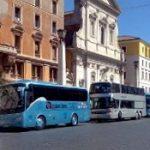Cambiano le regole per gli autobus turistici a Roma