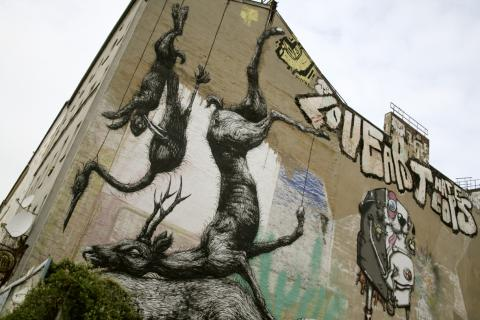 Street art Kreuzberg Berlino