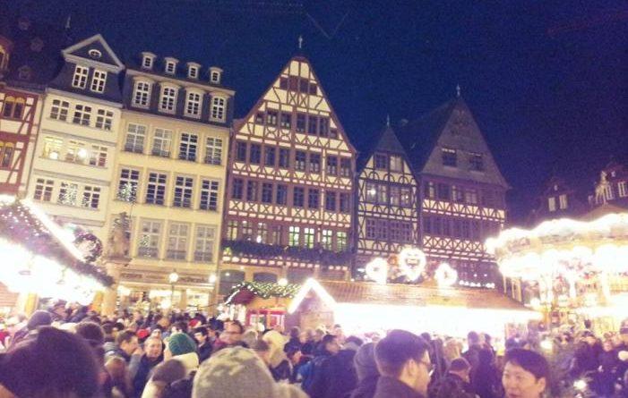 La piazza Romerberg di Francoforte