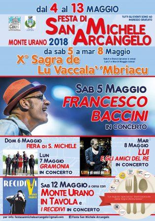 festa patronale Monte Urano