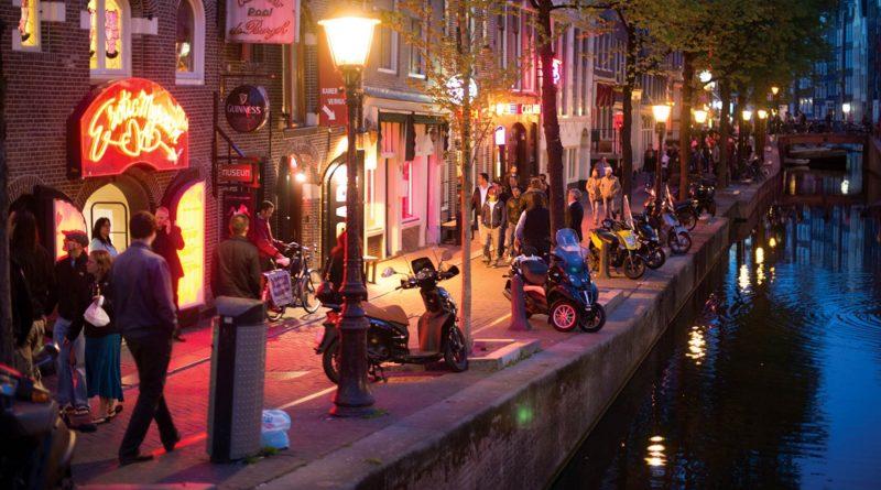Amsterdam distretto a luci rosse