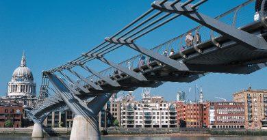 Cosa vedere a Londra il Millenium bridge