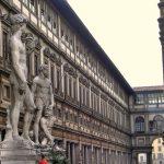 Film gratis nel piazzale degli Uffizi a Firenze