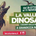 Valle dei Dinosauri. Salerno catapultata nella preistoria