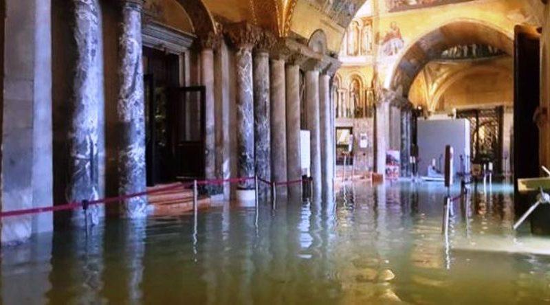 interventi nella Basilica di San Marco