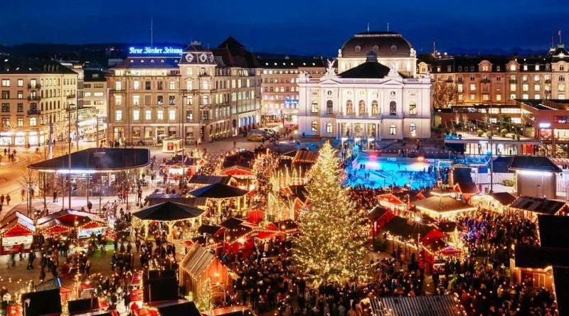 Natale 2018 in Svizzera mercatini Zurigo