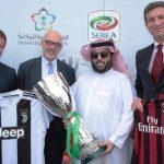 La Supercoppa italiana sarà assegnata il 16 gennaio a Jeddah