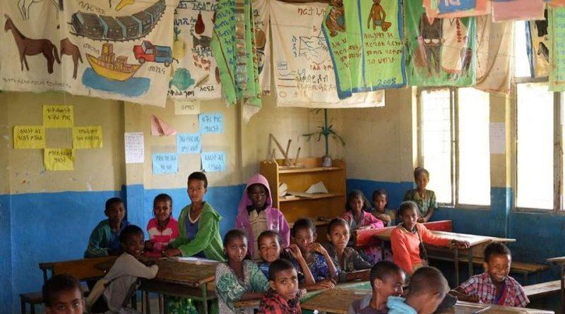 la scuola in Etiopia