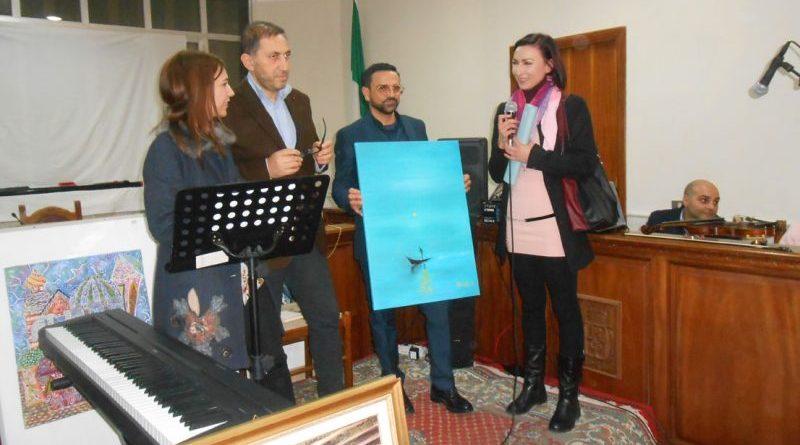 Gaudium. Alba Nisticò con Caterina Grillo, Nicola Brosio e Pasquale Addisi