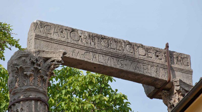 Cori, tempio dei Dioscuri. Che mito