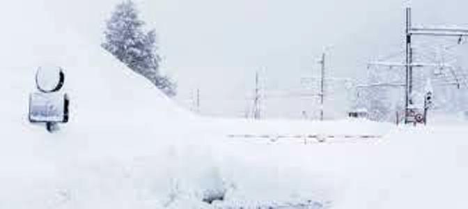 emergenza neve in Austria