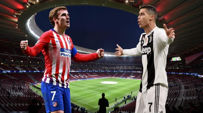 Atletico Madrid sfida Juventus