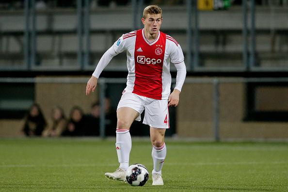 Ajax-Juve de Ligt 10 aprile