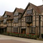 Stratford-upon-Avon città natale di Shakespeare