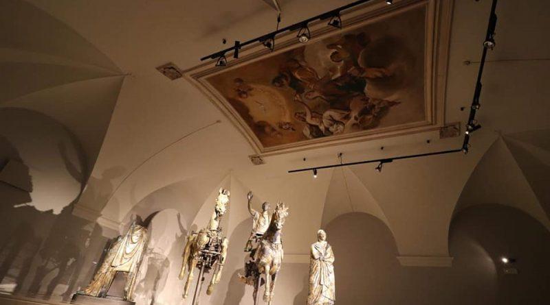 sala immersiva bronzi- Grand Tour Musei