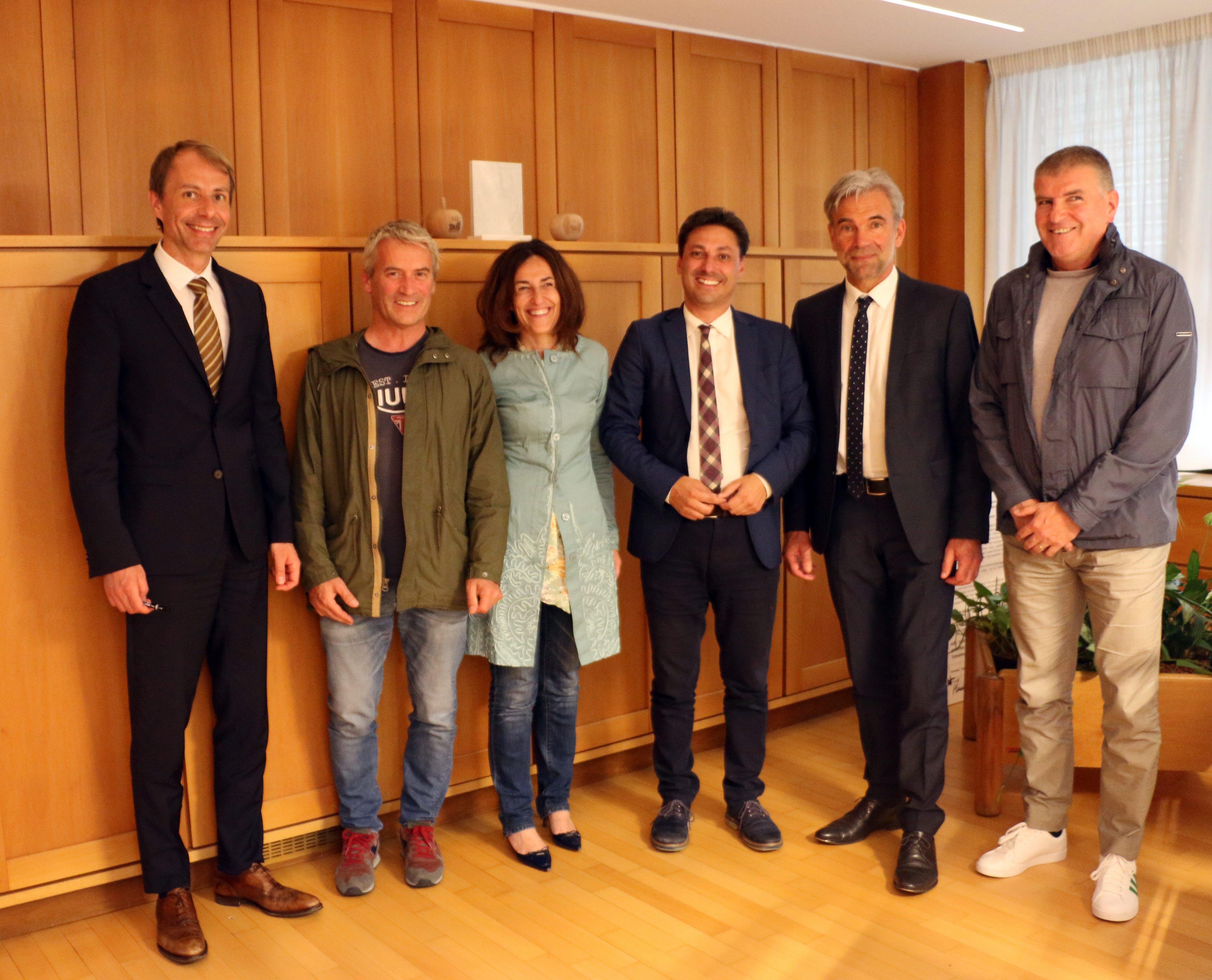 Management turistico Klaus Unterweger Davide Vuillermoz Gabriella Morelli Laurent Vierin Arnold Schuler Marco Albarello