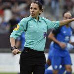 Stéphanie Frappart arbitro della Supercoppa Uefa del 14 agosto