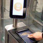 e-gates per passeggeri UE con passaporto elettronico in funzione a Bergamo
