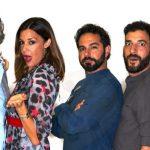 Martufello, Alessia Fabiani, Gabriele Carbotti, Andrea Dianetti, Leonardo Bocci a teatro