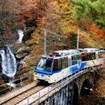 Il Treno del foliage percorre le linea ferroviaria Vigezzina-Centovalli