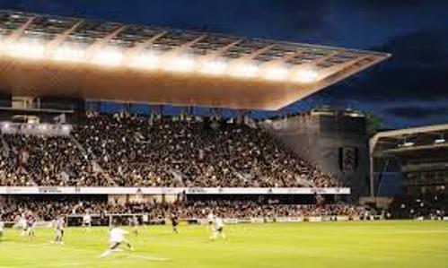 Il Fulham gioca al Craven Cottage